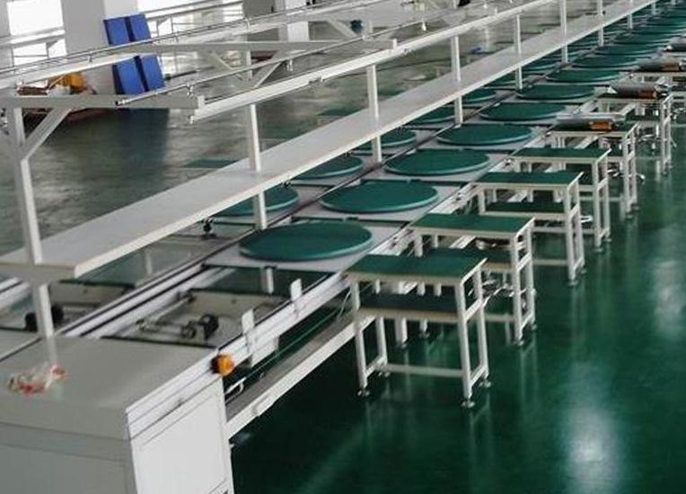 工业流水线的原理及其工业输送带定制目的