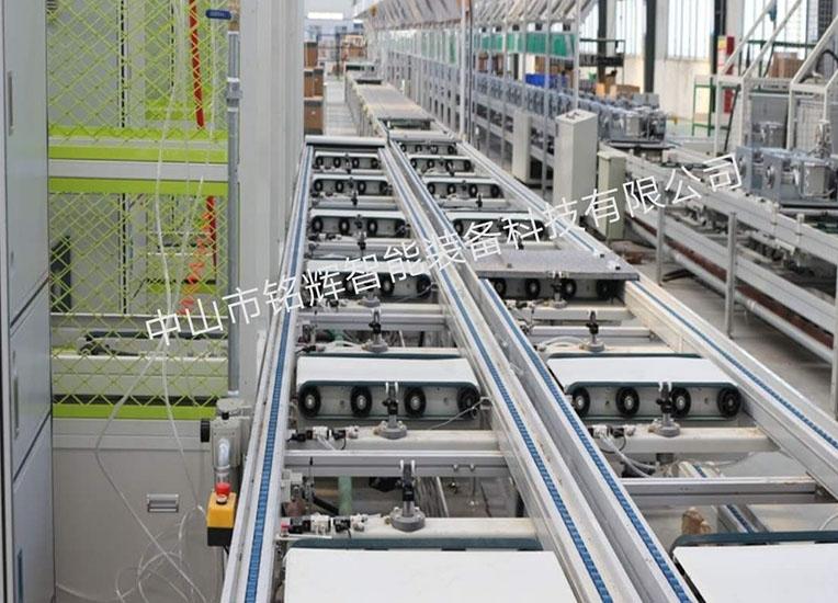工业输送线是加工生产型企业使用较多的一种非标输送线