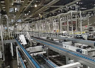 工业输送线自身具备运输作用,针对生产车间的原材料运输