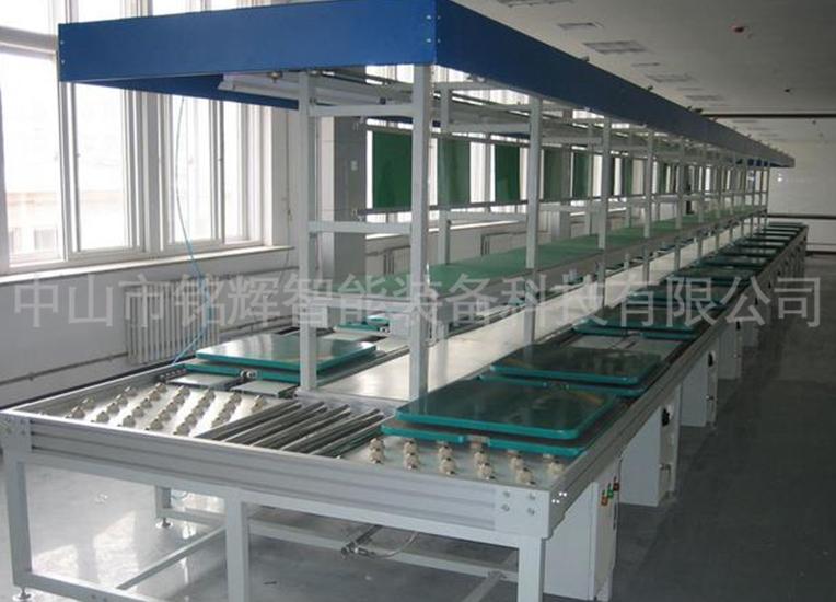 无动力工业生产线