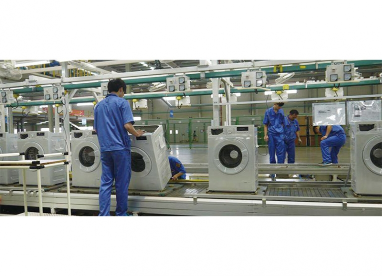 MH-滚筒洗衣机生产线