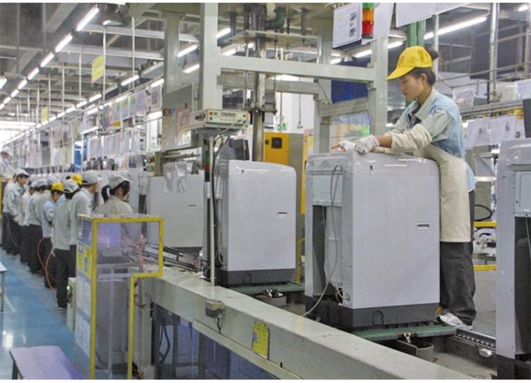 MH-洗衣机组装生产线